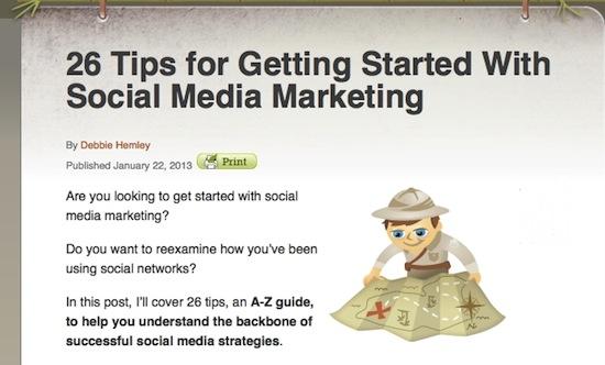 social media examiner 26 tips