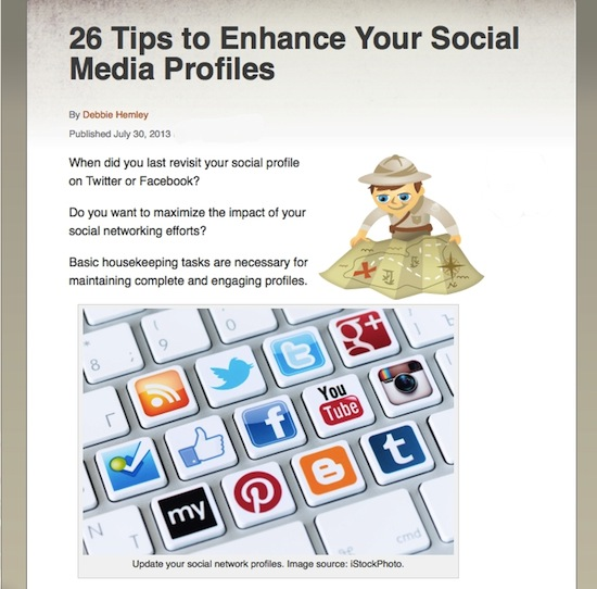 26 tips dhemley