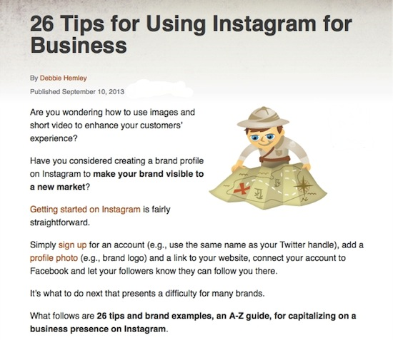 26 instagram tips