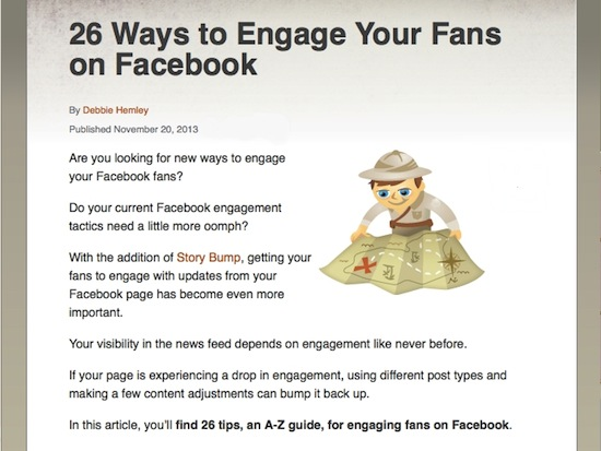 26 tips for facebook
