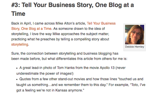 Inspiring Blog Posts